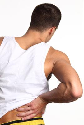 Падение боль в грудном отделе позвоночника